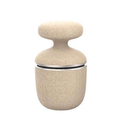 Cucina - Utensili da cucina - Smerigliatrice di spezie Green Tool - / Materiale duraturo di Eva Solo - Beige & acciaio - Acciaio inossidabile, Materiale composito resistente