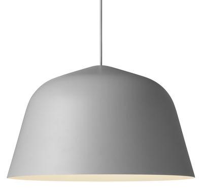 Illuminazione - Lampadari - Sospensione Ambit / Ø 40 cm - Muuto - Grigio - Alluminio