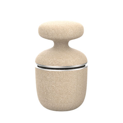 Kitchenware - Kitchen Equipment - Green Tool Spice grinder - / Durable material by Eva Solo - Beige & steel - Durable composite material, Stainless steel