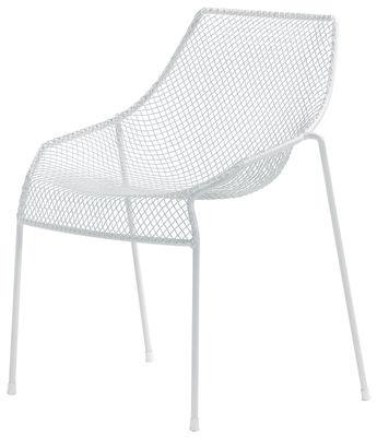 Möbel - Stühle  - Heaven Stapelbarer Stuhl - Emu - Weiß - Stahl