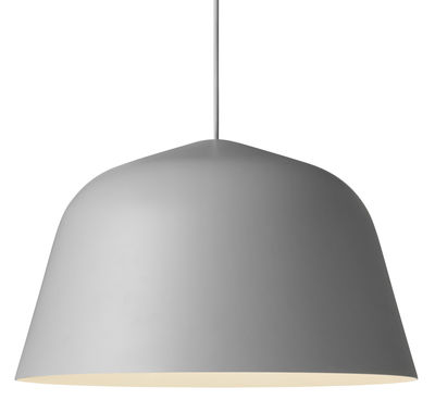 Suspension Ambit / Ø 40 cm - Muuto gris en métal