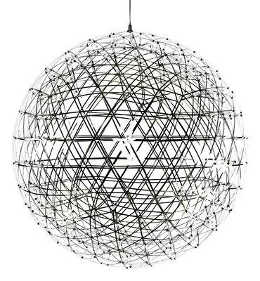 Suspension Raimond LED / Ø 199 cm - Moooi métal brillant en métal