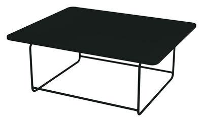 Mobilier - Tables basses - Table basse Ellipse 110 x 90 cm - H 48 cm - Fermob - Réglisse - Acier laqué