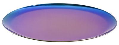 Tischkultur - Tabletts - Tablett / Ø 28 cm - Stahl - Hay - Regenbogenfarben - rostfreier Stahl