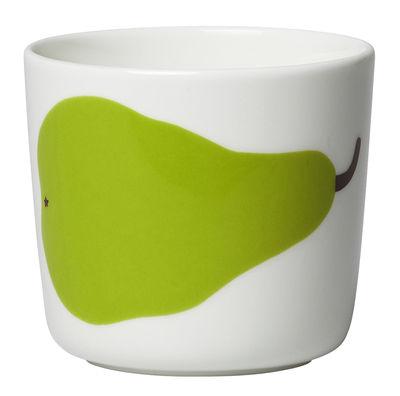 Tasse à café Oiva Päärynä / Sans anse - Set de 2 - Marimekko blanc,vert en céramique