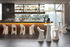 Tavolo bar alto Amélie Up - / 61 x 61 x H 110 cm di Slide