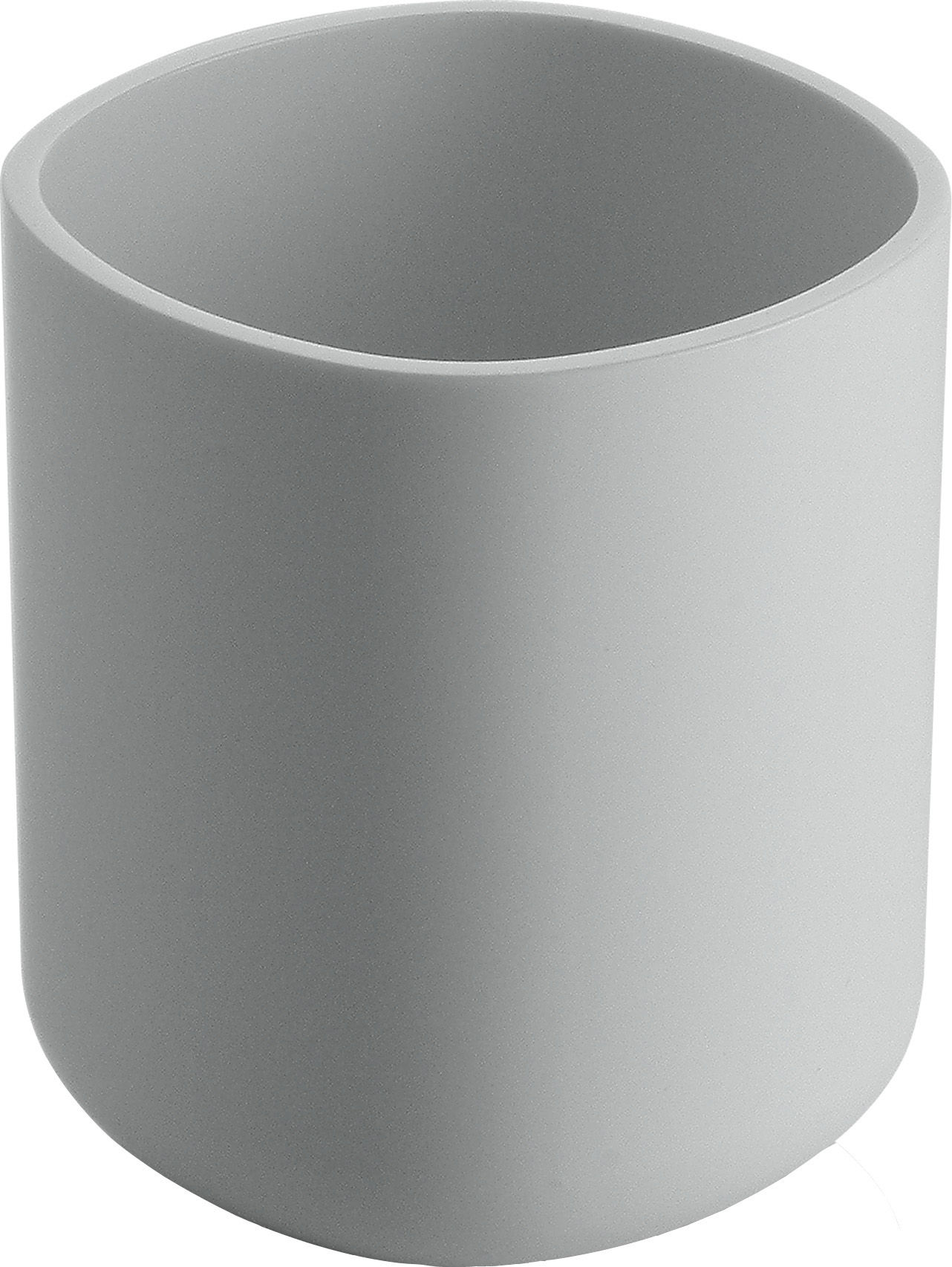 Decoration - For bathroom - Birillo Toothbrush holder by Alessi - White - PMMA