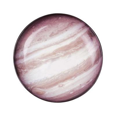 Assiette Cosmic Diner Jupiter / Ø 23,5 cm - Diesel living with Seletti marron en céramique