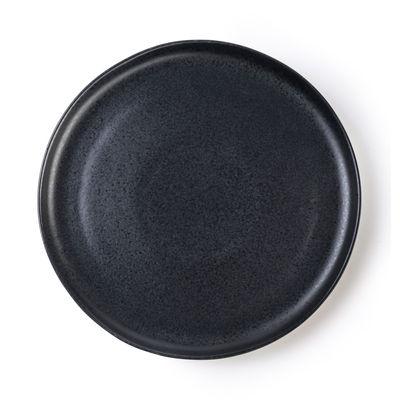 Arts de la table - Assiettes - Assiette plate / Ø 28 cm - Grès mat - Au Printemps Paris - Noir mat - Grès