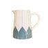 Caraffa Daria - / Ceramica dipinto a mano di Maison Sarah Lavoine