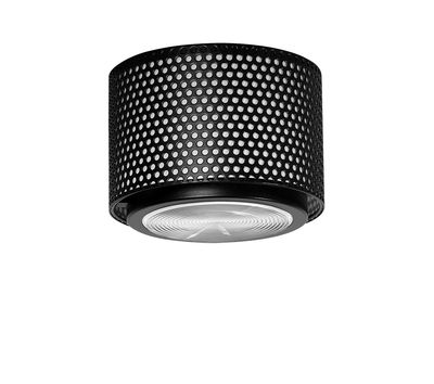 Lighting - Ceiling Lights - G13 Small Ceiling light - / Reissue 1952, Pierre Guariche by SAMMODE STUDIO - Black - Glass, Metal