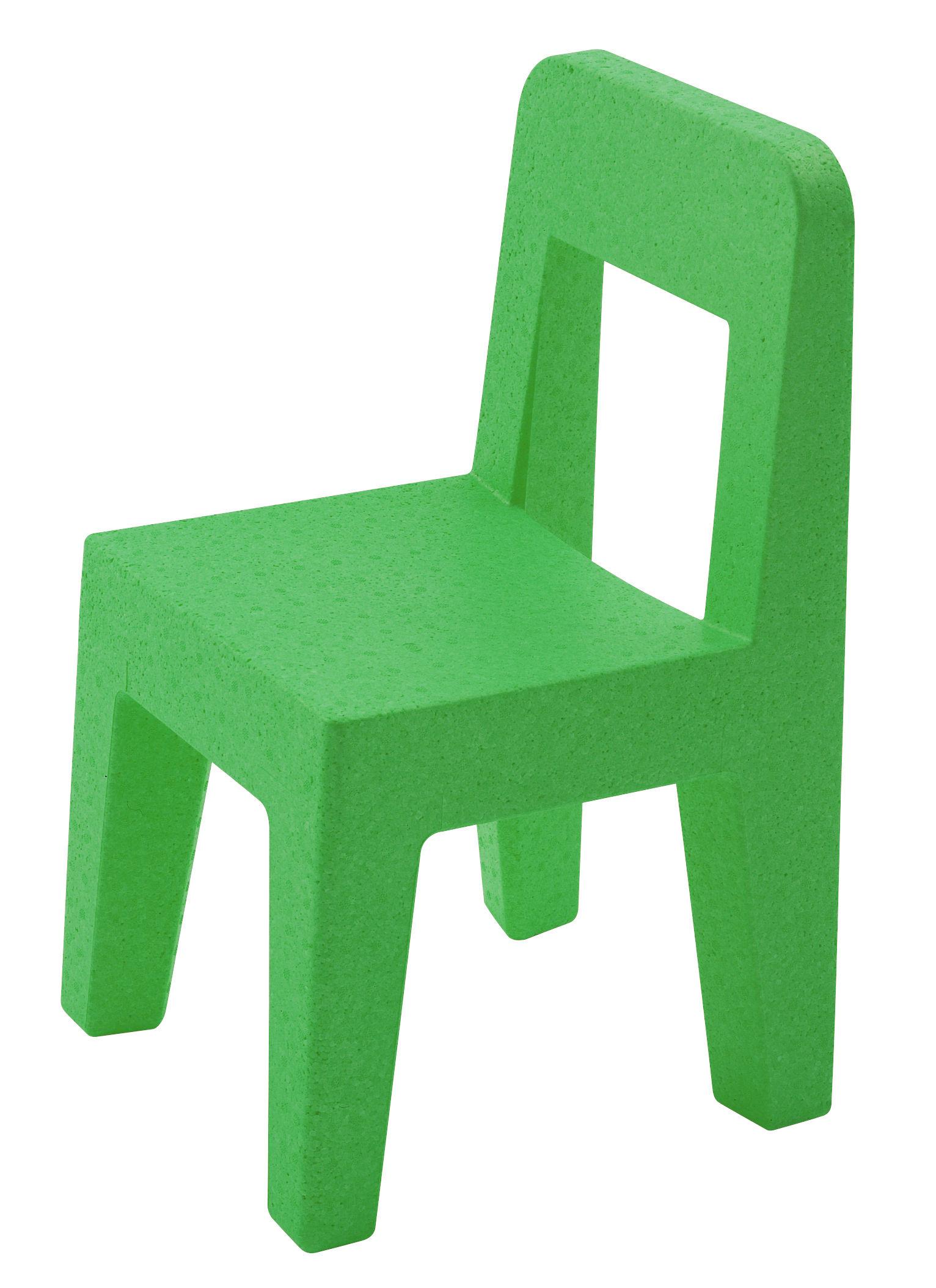 Mobilier - Mobilier Kids - Chaise enfant Seggiolina Pop - Magis Collection Me Too - Vert - Polypropylène