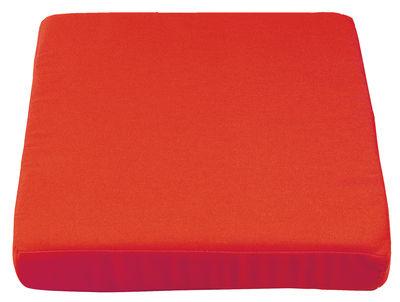Coussin d'assise / Pour Pied de parasol Cube - Sywawa rouge en tissu