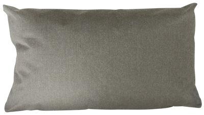 Arredamento - Pouf - Cuscino per esterno Large - / Outdoor - 90 x 50 cm di Trimm Copenhagen - Grigio - Tela