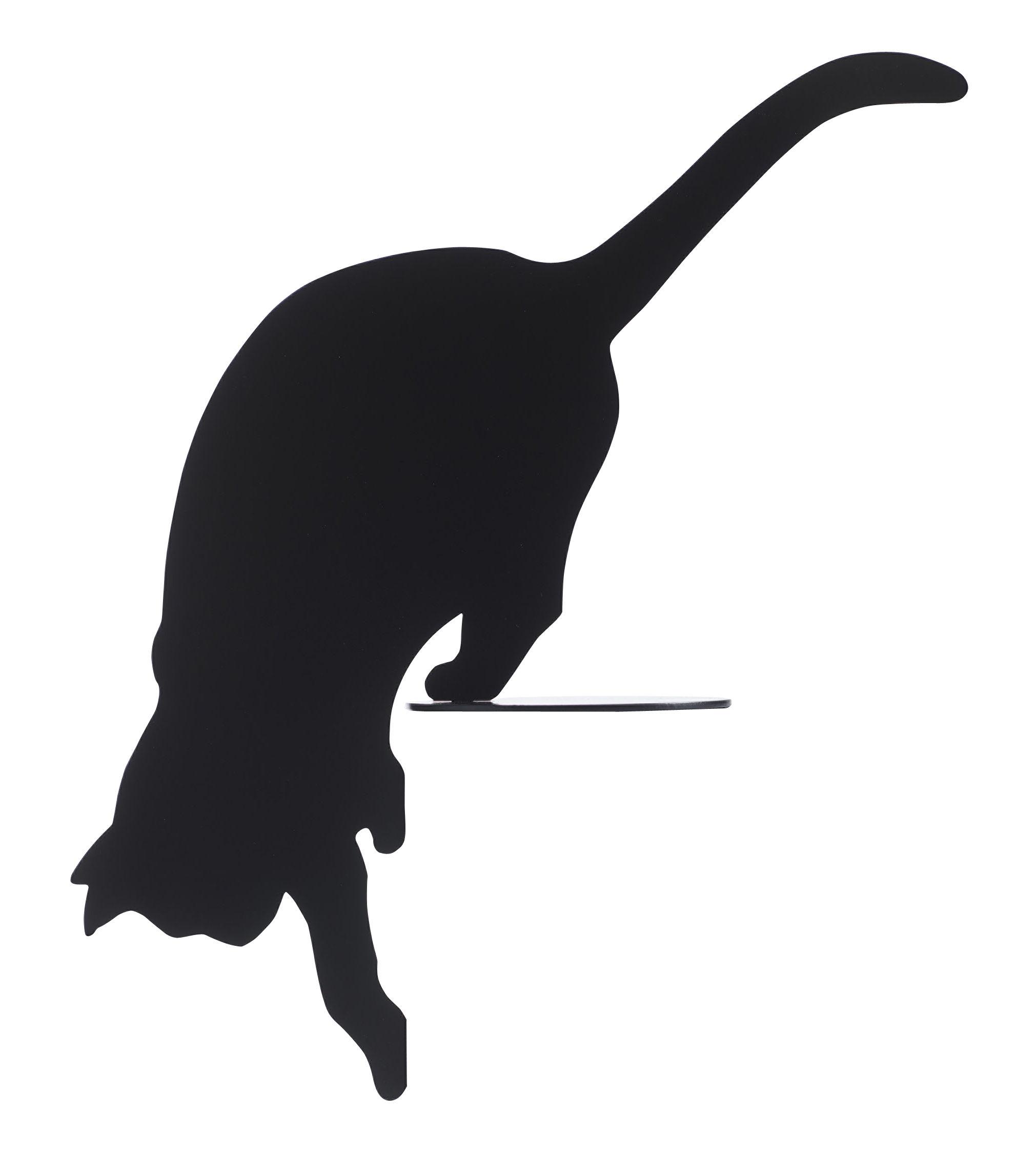 Déco - Objets déco et cadres-photos - Décoration Ombres de chats N°3 / à poser - 45 x H 47 cm - Opinion Ciatti - N°3 / Noir - Acier