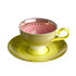 Grandma Espresso cup - / Set of 4 - With saucers by Pols Potten