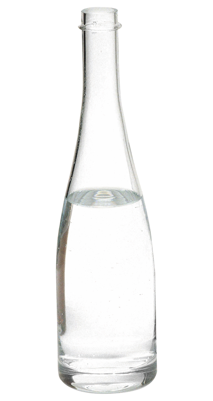 Tischkultur - Karaffen - Grande Fillette Karaffe - L'Atelier du Vin - Transparent - mundgeblasenes Glas