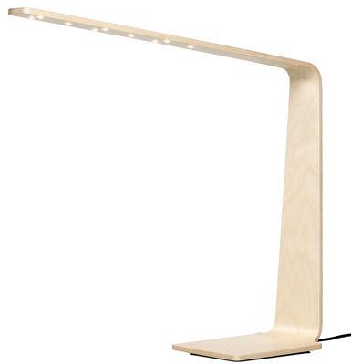 Lampe de table LED4 / H 52 cm - Tunto bouleau en bois