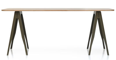 Tolix Y Pair Of Trestles Black Made In Design Uk
