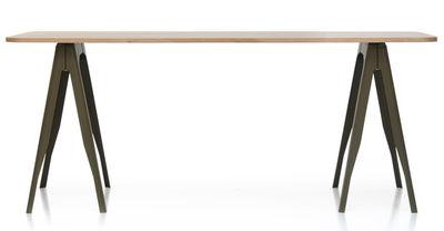 Bureau sur tréteaux table avec treteau maison design apsip