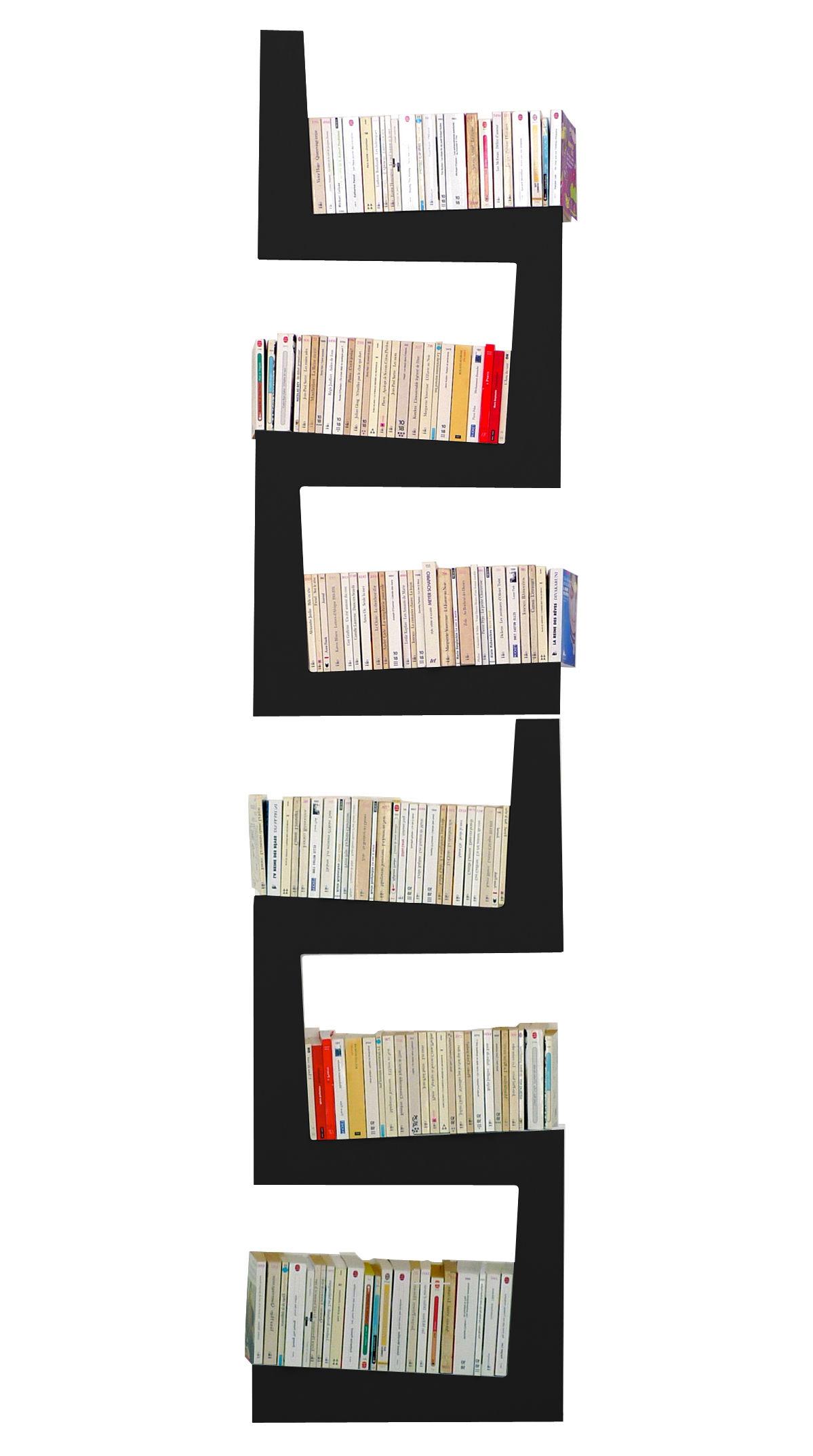 Möbel - Regale und Bücherregale - TwoSnakes Regal 2-er Set - Exklusivmodell in limitierter Auflage - La Corbeille - schwarz - lackierte Holzfaserplatte