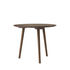 In Between SK3 Round table - / Ø 90 cm - Walnut by &tradition