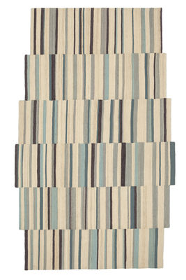 Decoration - Rugs - Lattice 2 Rug - 185 X 300 cm by Nanimarquina - Beige / Multicolored - Afghan wool