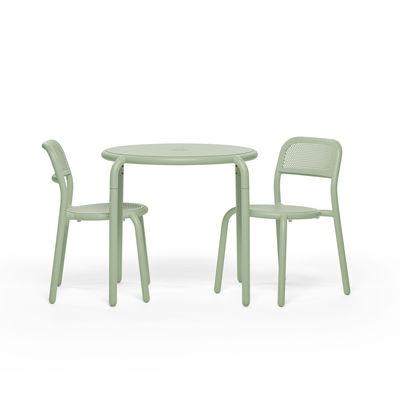 Runder Tisch Toni Bistreau Von Fatboy Grun Made In Design