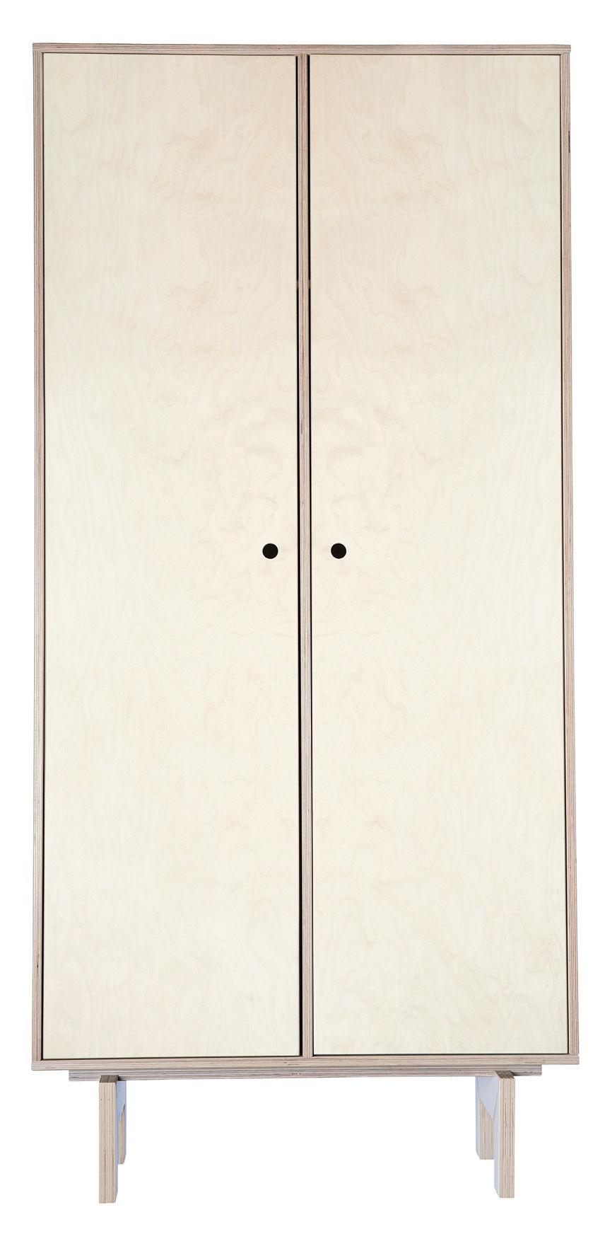 Easy Cabinet Schrank Birke Natur L 85 X H 175 Cm Birke Natur