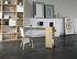 Darwin Schreibtisch / L 120 x T 60 cm - Integrierte Regale - POP UP HOME