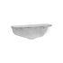Fracture Shelf - / Recycled aluminium - L 40 x D 18 cm by Ferm Living