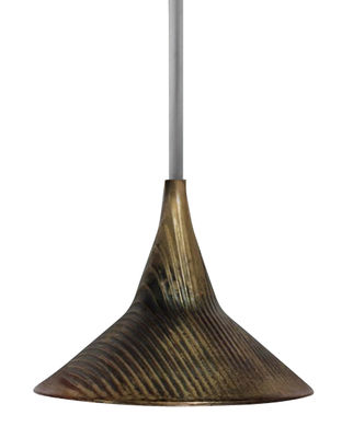 Illuminazione - Lampadari - Sospensione Unterlinden / LED - Ø 10,5 cm - Artemide - Ottone - Ottone