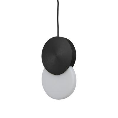 Suspension Duo LED - ENOstudio noir en métal