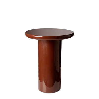 Table d'appoint Mob / Ø 40 x H 50 cm - Pols Potten marron en matière plastique