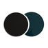 Eclipse Tablemat - / Ceramic - Set of 2 interlocking shapes by Maison Sarah Lavoine
