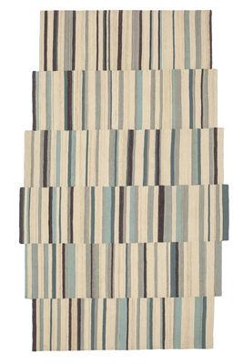 Lattice 2 Teppich / 185 x 300 cm - Nanimarquina - Bunt,Ecru