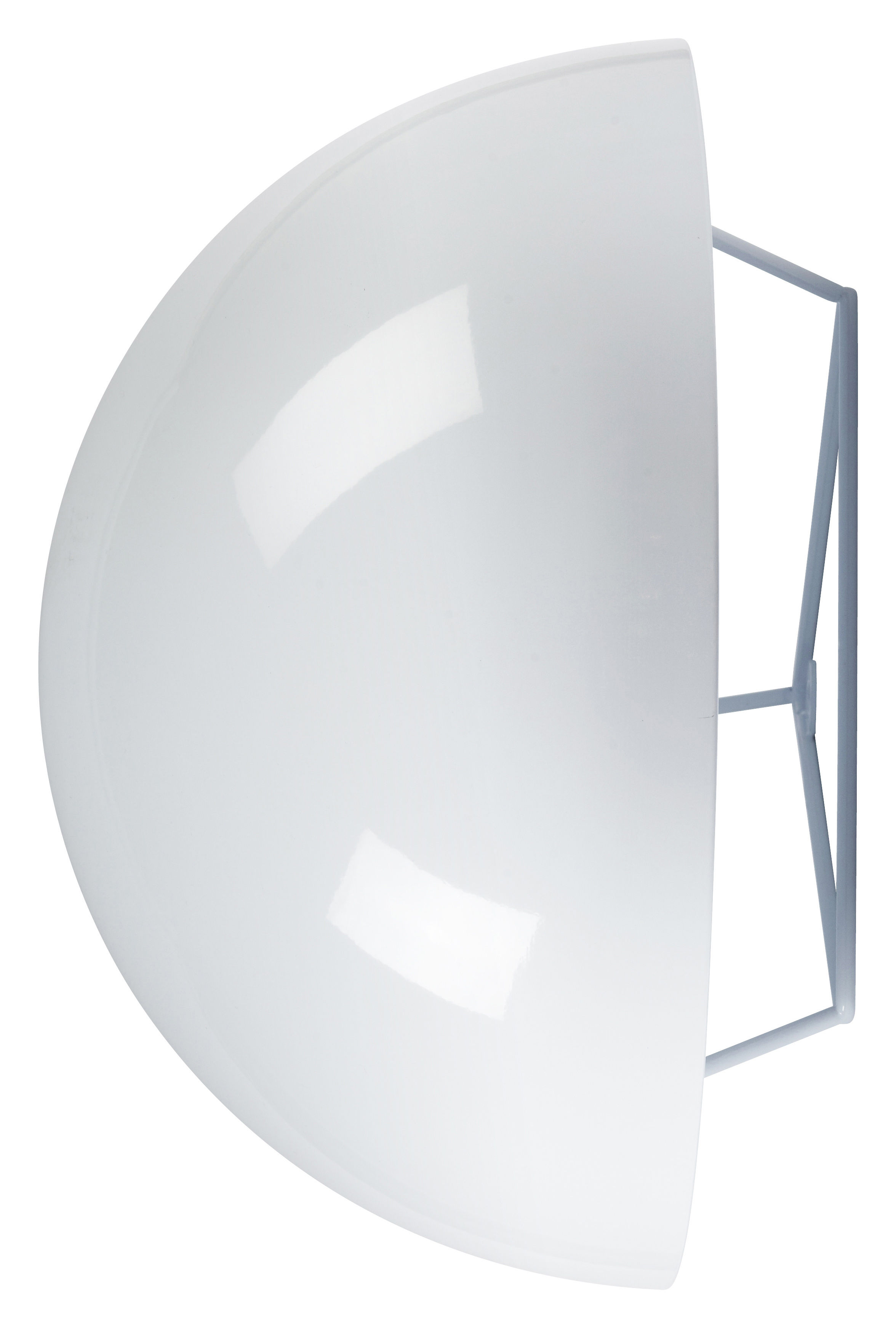 Leuchten - Wandleuchten - Dom Wandleuchte Groß - Ø 39,5 cm - Forestier - Ø 39,5 cm - weiß - lackiertes Metall