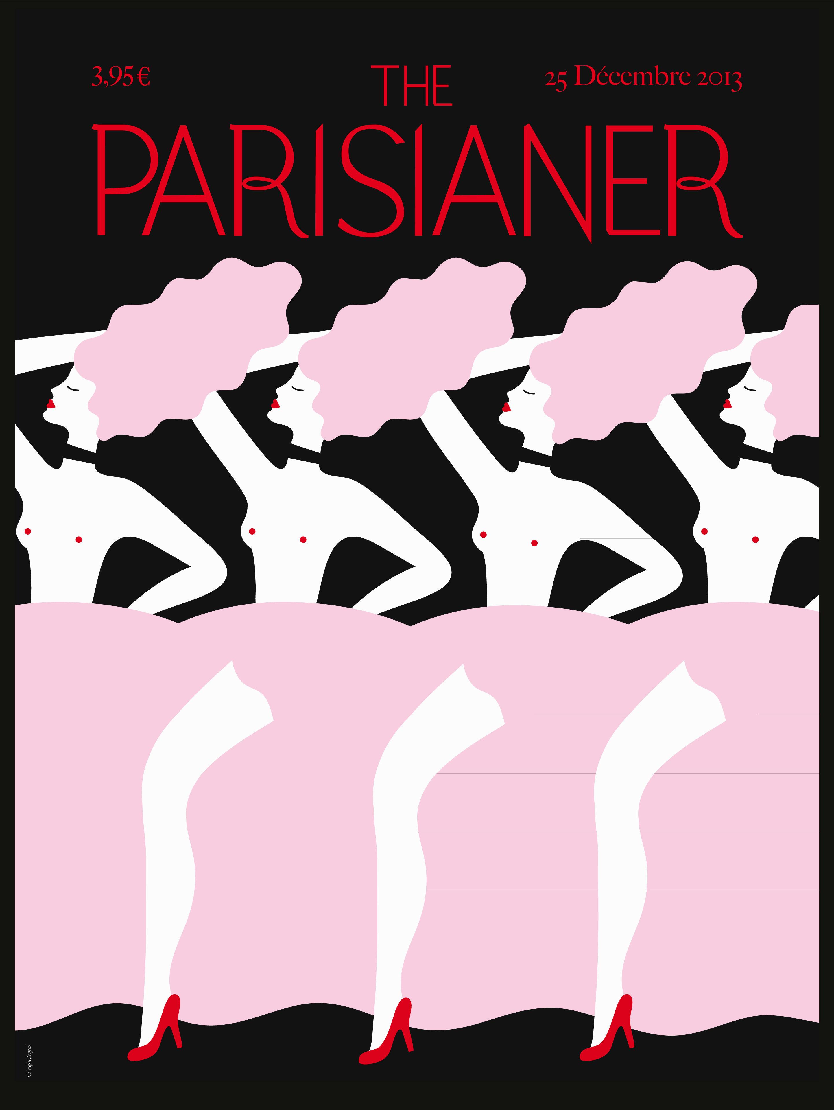 Déco - Objets déco et cadres-photos - Affiche The Parisianer - Zagnioli / 40 x 50 cm - Image Republic - Zagnioli - Papier