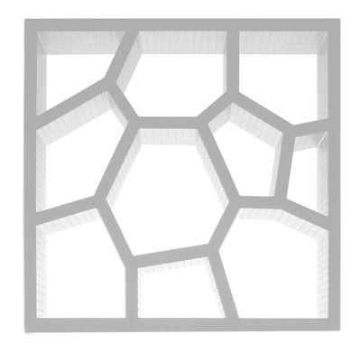 Mobilier - Etagères & bibliothèques - Bibliothèque Opus Incertum - Casamania - Blanc - Polypropylène expansé