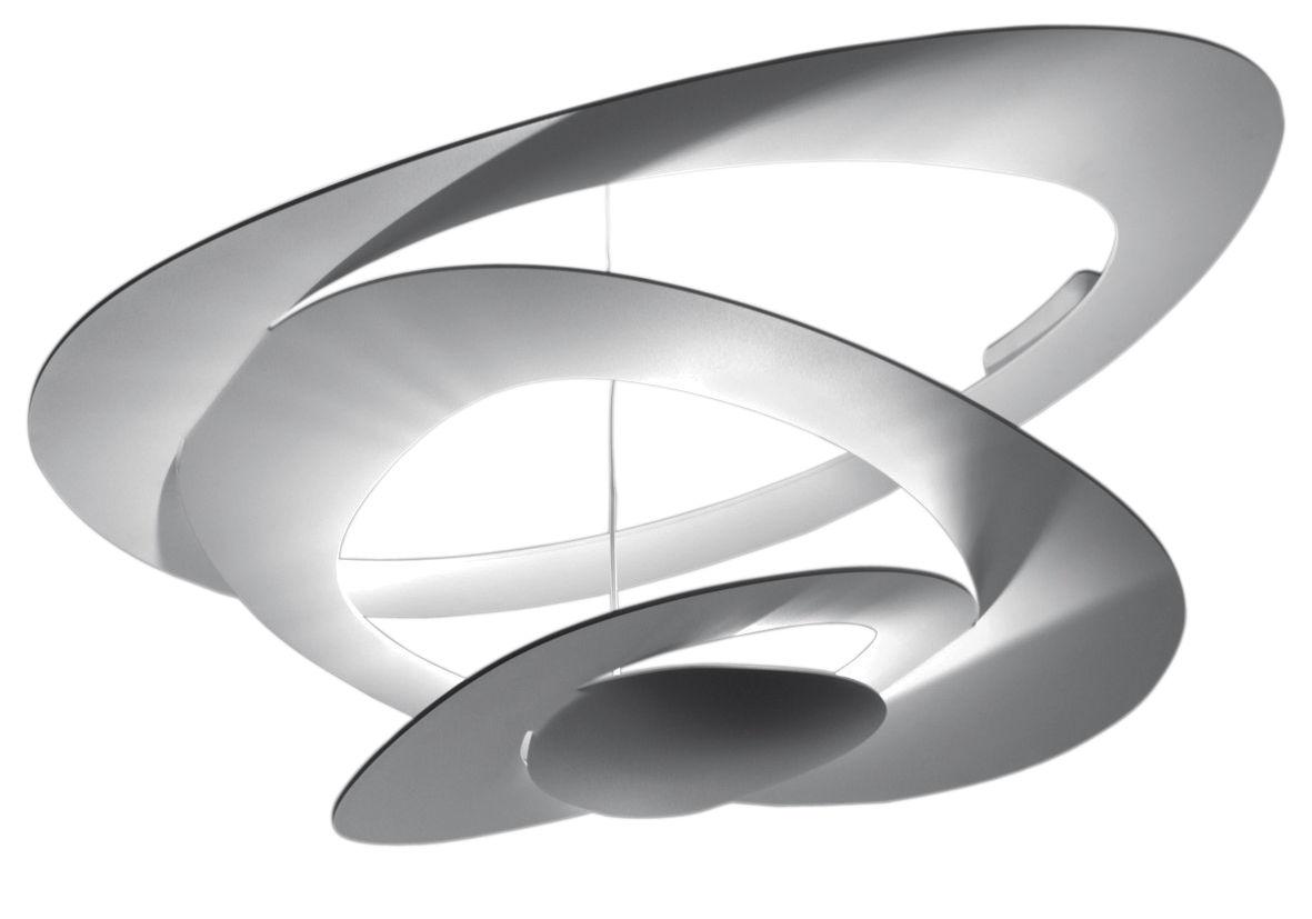 Lighting - Ceiling Lights - Pirce LED Ceiling light by Artemide - White - Varnished aluminium