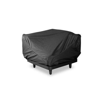 Mobilier - Poufs - Housse de protection / Pour module Paletti 1 place - L 90 cm - Fatboy - 3 places / Noir - Tissu polyester