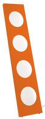 Lampadaire Dolmen LED / L 40 x H 180 cm - Foscarini orange en métal