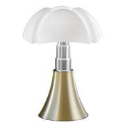 Lampe de table Pipistrello 4.0 Tunable White / Bluetooth - H 66 à 86 cm - Martinelli Luce or/métal en métal/matière plastique