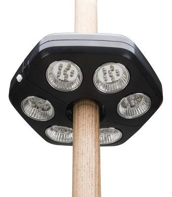 Outdoor - Parasols - Lampe pour parasol Quaseo / LED - Sans fil - Symo - Noir - Plastique