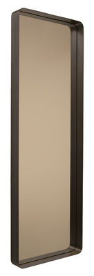 Decoration - Mirrors - Cypris Mirror - 60 x 180 cm by ClassiCon - Brown / Smoked glass - Burnished solid brass, Smoked glass