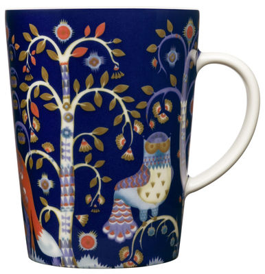 Mug Taika - Iittala bleu en céramique