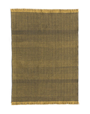 Decoration - Rugs - Tres Outdoor rug - / 170 x 240 cm by Nanimarquina - Mustard - Polythene