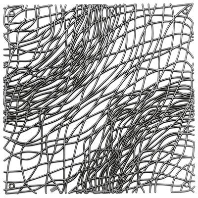 Arredamento - Separè, Paraventi... - Paravento/divisorio Silk - Set di 4 - ganci inclusi di Koziol - Antracite trasparente - policarbonato