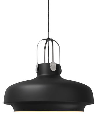Lighting - Pendant Lighting - Copenhague SC8 Pendant by &tradition - Black - Lacquered metal