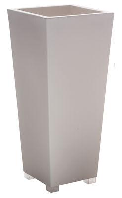 Pot de fleurs Kabin Maxi - Serralunga blanc en matière plastique
